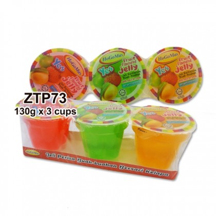 Jelly with Nata De Coco 130gmX3cup party goodies bag kenduri kahwin