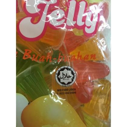 Hogomas Mini Fruit Jelly 720gm (42pcs 土)