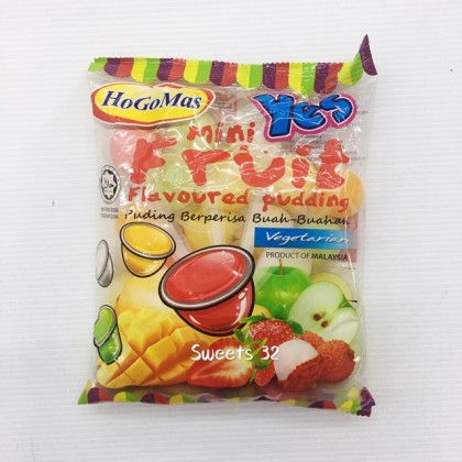 Assorted fruit flavour Pudding 365gm