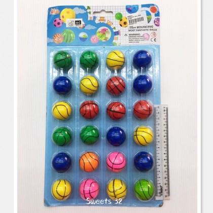 3.5cm Bounce Ball 弹弹球24pcs