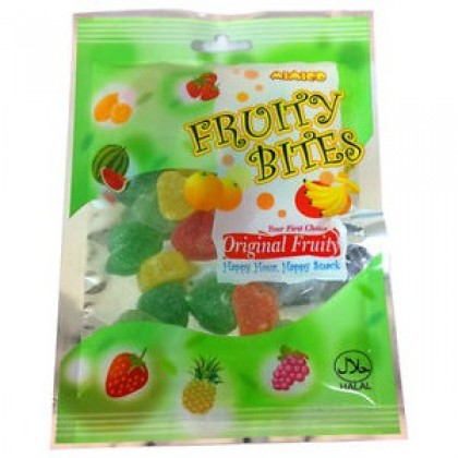 100gm FRUITY BITES (Jelly Sweets) soft candy